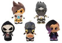 Image: Supercute Plush Overwatch 9-Piece Plush Display  - Funko