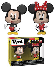 Image: Vynl Disney Vinyl Figure 2-Pack: Mickey Mouse & Minnie Mouse  - Funko