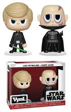 Image: Vynl Star Wars Vinyl Figure 2-Pack: Luke Skywalker & Darth Vader  - Funko