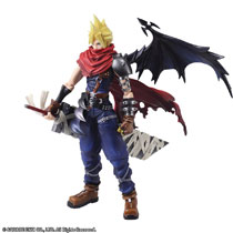 Image: Final Fantasy Bring Arts Cloud Strife Action Figure: Another Form Variant  - Square Enix Inc