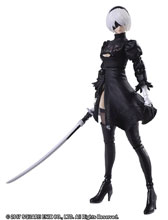 Image: Nier Automata Bring Arts Action Figure: 2B Yorha No 2 Type B 2.0  - Square Enix Inc