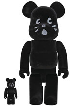 Image: Nya Flocky Bearbrick 100 & 400  (2-Pack) - Medicom Toy Corporation