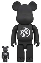 Image: Pil Bearbrick 100 & 400  (2-Pack) - Medicom Toy Corporation
