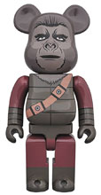 Image: Planet of the Apes Bearbrick: Soldier Ape 400  - Medicom Toy Corporation