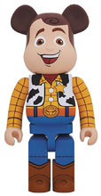 Image: Toy Story Bearbrick: Woody 1000  - Medicom Toy Corporation