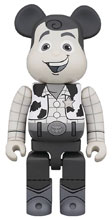 Image: Toy Story Bearbrick: Woody B&W 400  - Medicom Toy Corporation