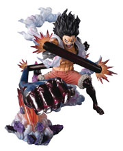 Image: One Piece Figuarts Zero Action Figure: Monkey D Luffy - Gear 4 King Cobra  - Tamashii Nations