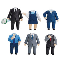 Image: Nendoroid More Dress Up Suits 02 6-Piece Blind Mystery Box Display  - Good Smile Company