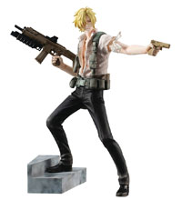 Image: Gem Series Banana Fish PVC Figure: Ash Lynx  - Megahouse Corporation