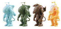 Image: 35 Gacharnen Maschinen Krieger 1/35 Capsule 12-Piece Blind Mystery Box Display  - Kaiyodo