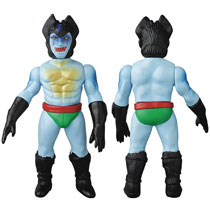 Image: Devilman Sofubi Vinyl Figure: Frenzy  (Blue version) - Medicom Toy Corporation