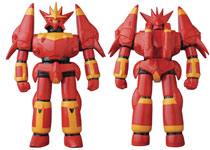 Image: Gun Buster Sofubi Vinyl Figure  (Flame version) - Medicom Toy Corporation