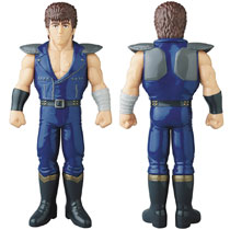 Image: Kenshiro Sofubi Vinyl Figure  (Blue version) - Medicom Toy Corporation