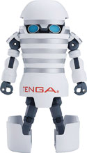 Image: Tenga Robot Transforming Tenga Robot Action Figure: Soft  - Good Smile Company