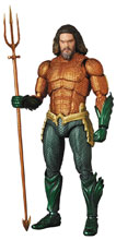 Image: Aquaman Mafex Action Figure  - Medicom Toy Corporation