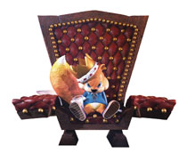 Image: Conkers Bad Fur Day Resin Statue: Conker  - First 4 Figures