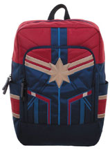 Image: Marvel Suit Up Backpack: Captain Marvel  - Bioworld Merchandising