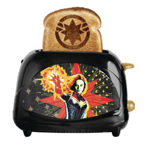 Image: Captain Marvel Toaster: Empire Collection  - Uncanny Brands LLC