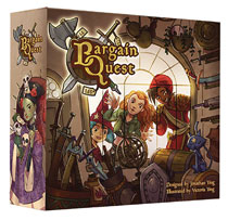 Image: Bargain Quest Board Game  - Renegade Game Studio