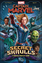 Image: Captain Marvel Card Game: Secret Skrulls  - Usaopoly