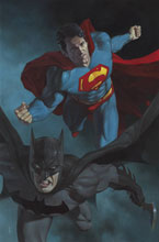 Image: Batman / Superman #10 (variant Card Stock cover - R Federici) - DC Comics
