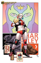 Image: Harley Quinn #73 (variant cover - Frank Cho) - DC Comics