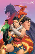 Image: Justice League #46 (variant cover - Clay Mann) - DC Comics