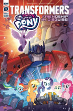Image: My Little Pony / Transformers #1 (cover A - Fleecs) - IDW Publishing