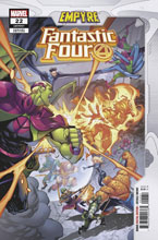 Image: Fantastic Four #22 (EMP) (variant Empyre cover - Anacleto) - Marvel Comics