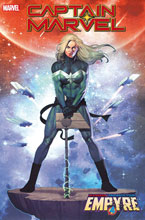 Image: Captain Marvel #19 (EMP) (variant Empyre cover - Olivetti) - Marvel Comics