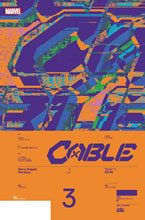 Image: Cable #3 (incentive Design 1:10 cover - Muller)  [2020] - Marvel Comics