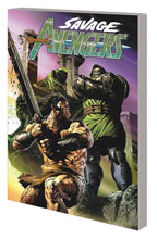 Image: Savage Avengers Vol. 02: To Dine with Doom SC  - Marvel Comics