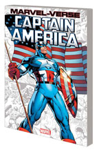 Image: Marvel-Verse: Captain America GN SC  - Marvel Comics