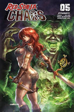 Image: Red Sonja: Age of Chaos #5 (cover B - Quah) - Dynamite