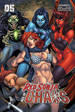 Image: Red Sonja: Age of Chaos #5 (cover C - Garza) - Dynamite