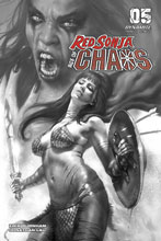 Image: Red Sonja: Age of Chaos #5 (incentive 1:40 cover - Parrillo B&W)  [2020] - Dynamite