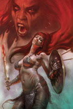 Image: Red Sonja: Age of Chaos #5 (variant cover - Parrillo virgin) - Dynamite