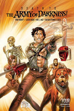Image: Death to Army of Darkness #4 (cover D - Gedeon Homage) - Dynamite