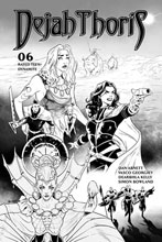 Image: Dejah Thoris Vol. 03 #6 (incentive 1:25 cover - Georgiev B&W) - Dynamite