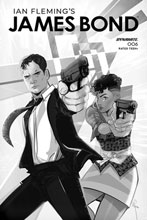 Image: James Bond #6 (incentive 1:10 cover - Richardson B&W) - Dynamite