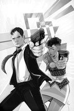 Image: James Bond #6 (incentive 1:20 cover - Richardson B&W virgin) - Dynamite