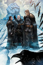 Image: George R.R. Martin's A Clash of Kings #5 (incentive 1:25 cover - Miller virgin) - Dynamite