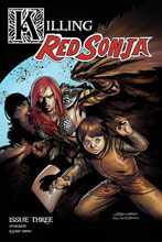 Image: Killing Red Sonja #3 (cover B - Gedeon Homage) - Dynamite