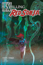 Image: Killing Red Sonja #3 (incentive 1:20 cover - Ward color) - Dynamite