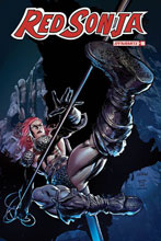 Image: Red Sonja Vol. 05 #16 (incentive 1:07 cover - Gedeon Homage) - Dynamite