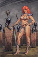 Image: Red Sonja #16 (variant cover - Linsner virgin) - Dynamite