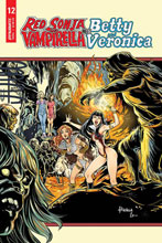 Image: Red Sonja and Vampirella Meet Betty and Veronica #12 (cover C - Braga) - Dynamite