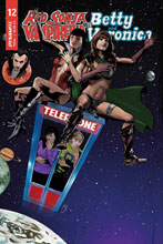 Image: Red Sonja and Vampirella Meet Betty and Veronica #12 (cover E - Staggs) - Dynamite