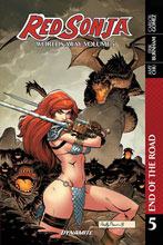 Image: Red Sonja: Worlds Away Vol. 05 - End of Road SC  - Dynamite