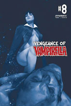 Image: Vengeance of Vampirella Vol. 02 #8 (incentive 1:40 cover - Oliver Tinted) - Dynamite
